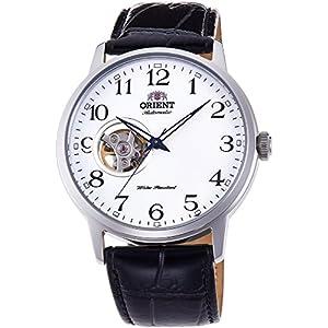 Orient Reloj Analógico para Hombre de Automático con Correa en Cuero