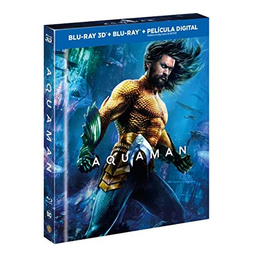 Aquaman Blu-Ray 3d + 2d Digibook [Blu-ray] 4