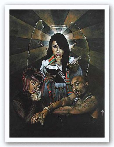 Unto Him We Return von Tracy Andrews Kunstdruck (Aaliyah Poster)
