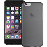 Smoke Black XYLO-GEL Skin / Case / Cover for the Apple iPhone 6 Plus / 6s Plus (5.5 inch screen). Includes ClearICE Screen Protector Guard.
