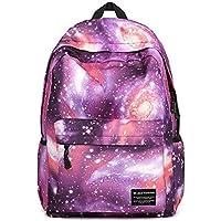 YARBAR Galaxy design unisex Casual Fashion Travel portatile dello zaino scuola Zaino Tablet