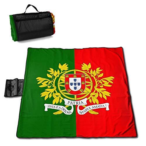 Socksforu Flag of The Portuguese State Extra Large Picnic Blanket 57
