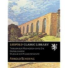 Tabellen zur Musikgeschichte; Ein Hilfsbuch beim Studium der Musikgeschichte
