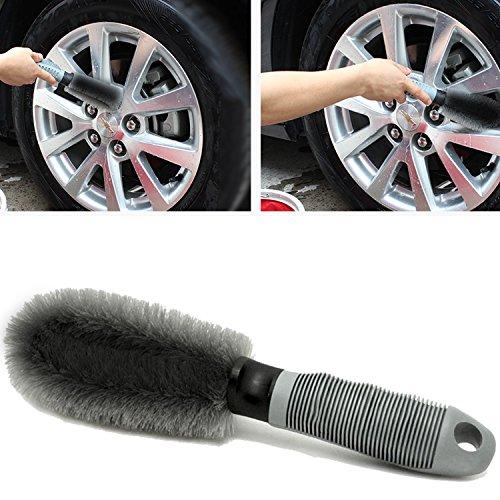 Auto-Felgenbrste-Waschbrste-Aodoor-Auto-Felgen-Reifen-Speichen-Hand-Wasch-Brste-fr-Effektiven-Reinigung-Hochwertiger-Felgen-Grau