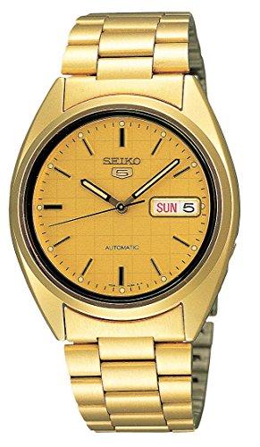 seiko-snxl72-montre-homme-automatique-analogique-bracelet-acier-inoxydable-dore