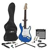 Pack Complet Guitare Électrique LA par Gear4music Bleu