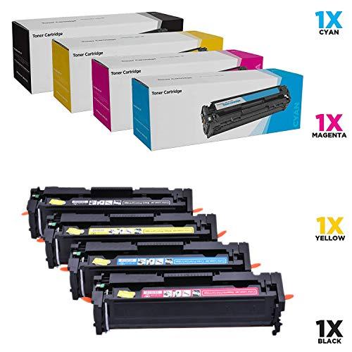 SHZJZKompatibel KEIN CHIP HP 416A W2040A W2041A W2042A W2043A Toner für HP Color Laserjet Pro MFP M479fdw, M479fdn, M454dw, M454, M454dn (Schwarz, Cyan, Magenta, Gelb, 4-Pack),4p