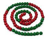 Green Future Pflanzenhandel Montessori Material Hunderterkette Rechenkette Farbwahl Perlenmaterial 10mm