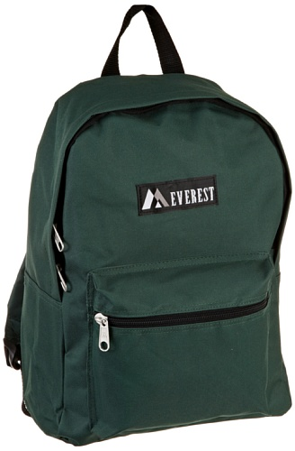 Everest , Zainetto per bambini  Adulti, Turquoise (turchese) - 1045K-TURQ Dark Green