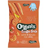 Organix - Stage 2 From 7 Months - Fingerfoods - Carrot & Tomato Rice Cakes - 50g