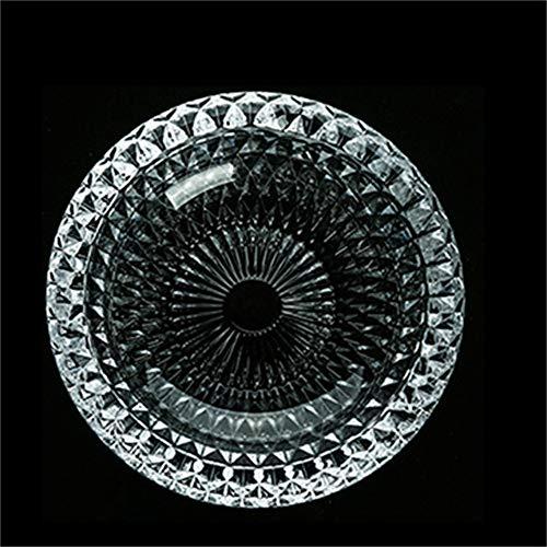 Luxus Kristall Aschenbecher Kreative Persönlichkeit Trend Multifunktionale Niedlich Schlafzimmer Wohnzimmer Europäischen Glas Aschenbecher Groß, um Männer Geschenk 16,5 cm x 4 cm