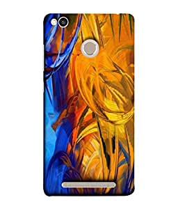Xiaomi Redmi 3s Prime, Xiaomi Redmi 3 Plus Back Cover (Illustration Composition Intemperate Paintings Background Creativity Beautiful Multilayer) From Printvisa