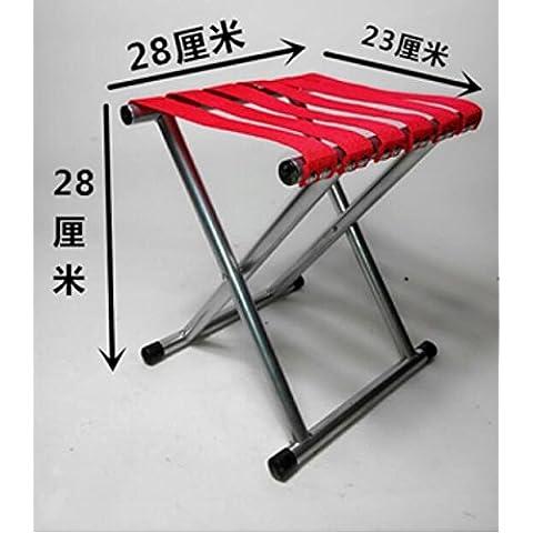 Mazar portátil plegable silla pesca/al aire libre esbozo Mazar/tren/militar pequeño Banco Mazar , 4