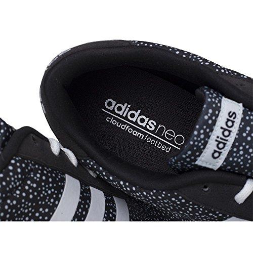 adidas Damen Lite Racer W Turnschuhe, Fuchsia, EU schwarz / weiss