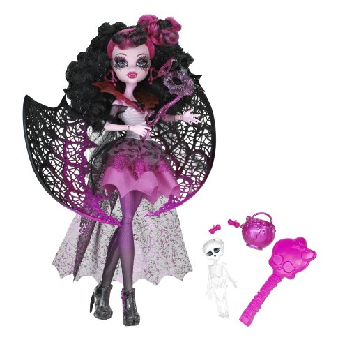 Fledermaus Kostüm High Monster - Mattel Monster High X3716 -  Kostümparty Draculaura, Puppe