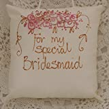 For my special Bridesmaid. Hanging pillow.