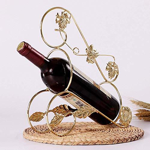 CWJ Wein Regal-Europäische Kreative Weinregale Eisen Kunst Weinblätter Mode Farbe Multiple Choice...