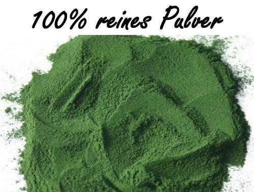 100% reines Spirulina Pulver, 500g Sparpackung - rückstandskontrolliert -