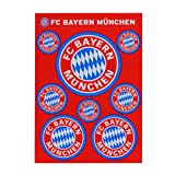FC Bayern Aufkleber Karte Logo