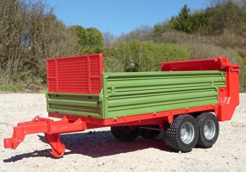 RC Auto kaufen Traktor Bild 6: RC Traktor CLAAS Axion 870 Anhänger in XL Länge 78cm