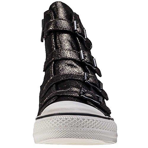 Ash Schuhe Virgin Bronze Sneaker aus Leder Damen Mordore