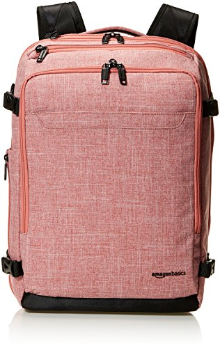 AmazonBasics Sac à dos fin Rouge, Pour weekend