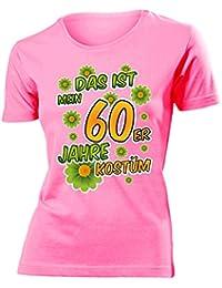 Karnevalskostüm - Faschingskostüm - Halloween - DAS IST MEIN 60ER JAHRE KOSTÜM T-Shirt Damen S-XXL