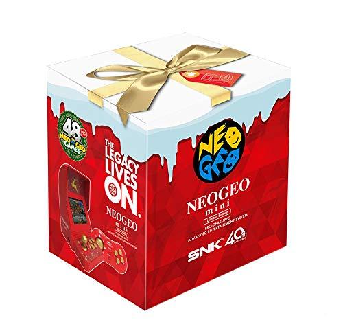 Neo Geo Mini Christmas Edition Série Limitée Noël 2018 (2 Manettes + Accessoires + 48 Jeux)