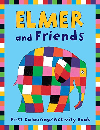 Elmer and Friends First Colouring Activity Book