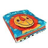 SLHP Baby Tuch Buch Kinder Spielzeug Entdeckungsbuch Clip Soft Bilderbuch