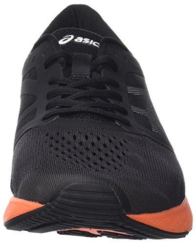 Asics Roadhawk FF, Scarpe Running Uomo Nero (Black / Hot Orange / White)