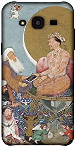 The Racoon Grip printed designer hard back mobile phone case cover for Samsung Galaxy J5. (The Mughal)
