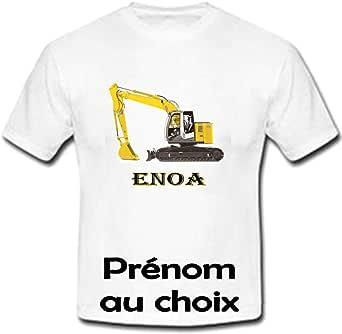 GRAVOPHOTO Tshirt Personnalis/é Pat Patrouille Pr/énom et Taille au Choix