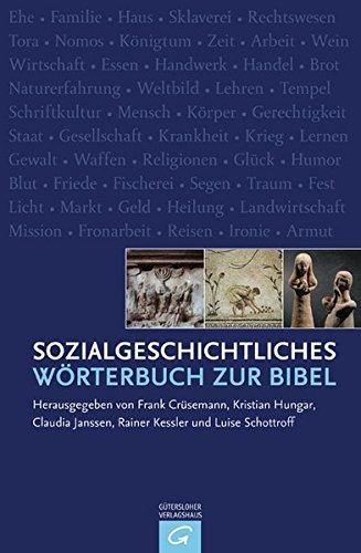 Sozialgeschichtliches Wörterbuch zur Bibel