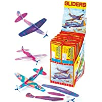 Baker Ross Flying Gliders (Pack of 6) For Kids Christmas Stocking Fillers and Toys Or Gift For Kids