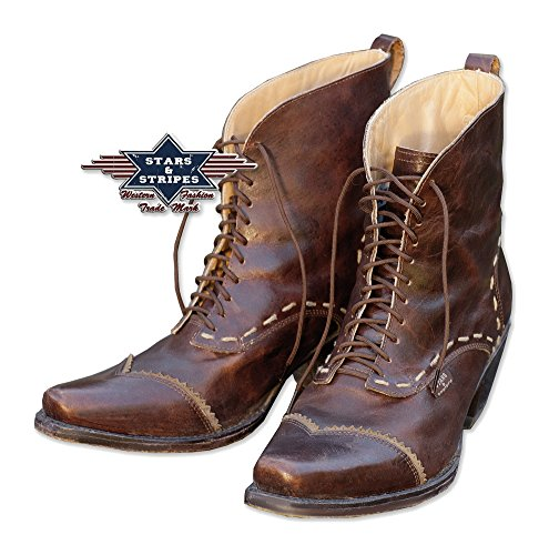 Stars & Stripes Damen Western-Boots »ASHLEY« Braun (39)