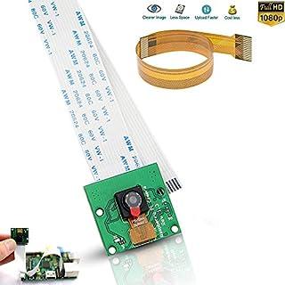 Raspberry Pi Camera,zero camera raspberry pi 3 camera Video Module 5MP 1080p OV5647 Sensor with 15 Pin FPC Cable + Pi Zero Ribbon Cable 15cm Raspberry Pi A B+ camera cable kit