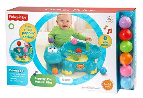 Imagen 30 de Fisher-price Go Baby Go Poppity Pop Musical Dino