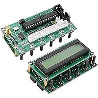 Akozon DDS Signal Generator 0-55MHz Módulo de generadores de funciones de señal LCD basado en AD9850