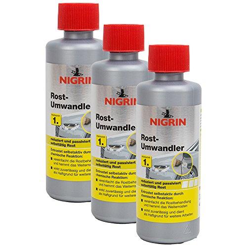 Preisvergleich Produktbild Nigrin 3 x 74032 Rostumwandler 200 ml