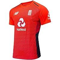 New Balance Ecb Replica T20 Short Sleeve tee Camiseta, Hombre