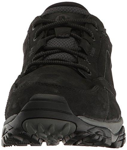Merrell Moab Adventure Lace, Chaussures de Randonnée Basses Homme Noir (Black)