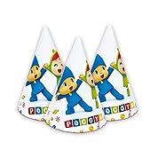 Verbetena, 016001518, pack of 6 Pocoyo and Nina party hats, carton product