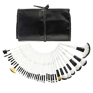 Abody 36Pcs Pennelli Make Up /Spazzola di trucco cosmetico professionale di legno Kit cosmetici Make Up Set + borsa custodia