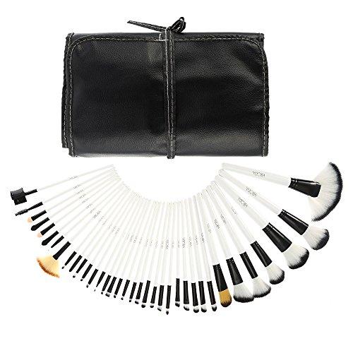 Abody 36Pcs Set de Brochas de maquillaje Kit de pinceles cepillos cosméticos profesional + Bolsa