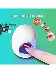 Rameng Mini-Lampe und Nageltrockner, UV-/LED-Lampe für Maniküre