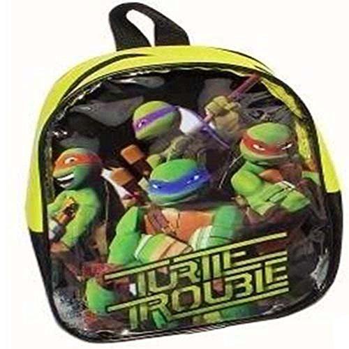 Image of Nickelodeon Ninja Turtles Stationery Filled Creative Backpack Arts Crafts Set School Bag
