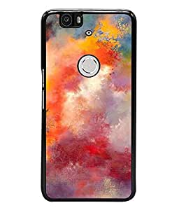 Fuson Designer Back Case Cover for Huawei Nexus 6P :: Huawei Google Nexus 6P (painting colours art Beautiful colourfull paint)