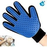 Nuevo gant-brosse de acicalado en seco o baño perro gato conejo para eliminar cerdas de masaje