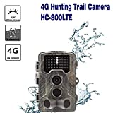 SSCJ Wildlife Trail Kamera 16MP 1080P HD Jagd-Cam mit 940nm IR-LEDs Nachtsicht 2.0 '' LCD-Display Camouflage Scouting-Kamera mit wasserdichtem IP65